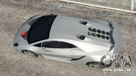 GTA 5 Lamborghini Sesto Elemento v0.5 vue arrière