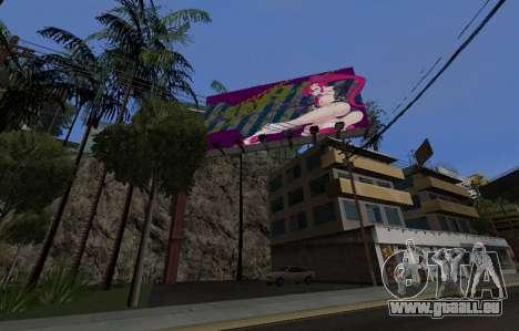 Candy Suxx panneau d'affichage de remplacement pour GTA San Andreas