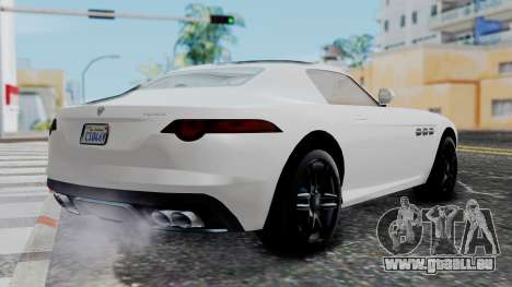 GTA 5 Benefactor Surano v2 für GTA San Andreas linke Ansicht