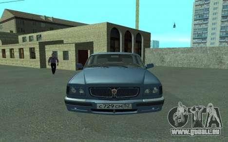 GAZ Volga 3110 pour GTA San Andreas vue de droite
