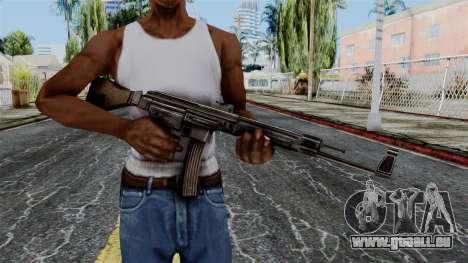StG 44 from Battlefield 1942 pour GTA San Andreas troisième écran