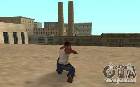 Fusil de chasse avec un bébé tigre pour GTA San Andreas deuxième écran