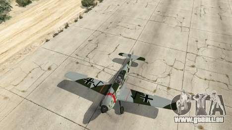 GTA 5 Messerschmitt BF-109 E3 v1.1 vierten Screenshot