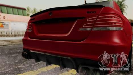 Brabus B900 pour GTA San Andreas vue arrière