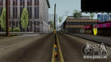 Brasileiro Katana v2 pour GTA San Andreas deuxième écran