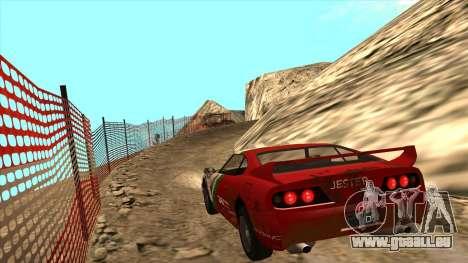 Rally Jester pour GTA San Andreas laissé vue