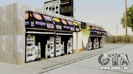 LS Chigasaki Store v3 pour GTA San Andreas troisième écran