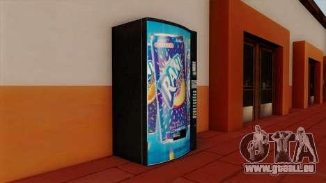 Rani Juice Machine pour GTA San Andreas deuxième écran