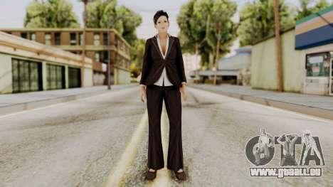 DOA 5 Miyako pour GTA San Andreas deuxième écran