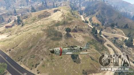 GTA 5 Messerschmitt BF-109 E3 v1.1 zehnte Screenshot