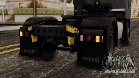 Iveco EuroStar Low Cab für GTA San Andreas Unteransicht