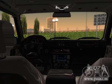 Mercedes-Benz G500 pour GTA San Andreas vue de côté