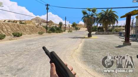 GTA 5 SAIGA von Battlefield 4 zweite Screenshot