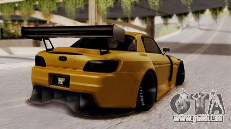 Honda S2000 GT1 pour GTA San Andreas laissé vue