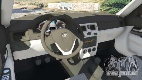 GTA 5 VAZ-Lada 2170 Priora volant