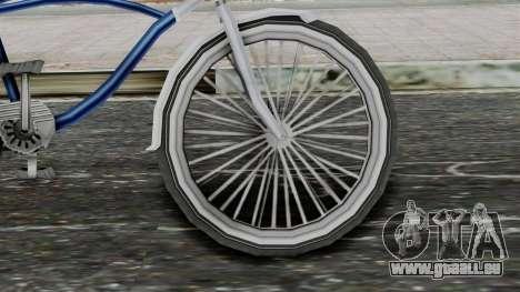 Aqua Bike from Bully für GTA San Andreas zurück linke Ansicht
