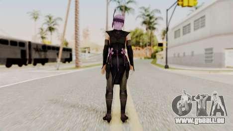 DOA 5 Ayane Ninja pour GTA San Andreas troisième écran