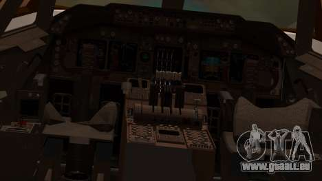 Boeing 747-100 American Airlines pour GTA San Andreas vue intérieure