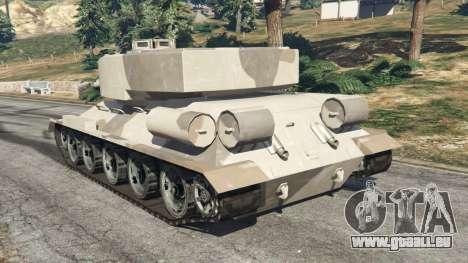 Т-34 personnalisé pour GTA 5
