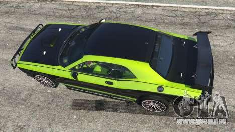GTA 5 Dodge Challenger 2015 Shaker Furious 7 Rückansicht