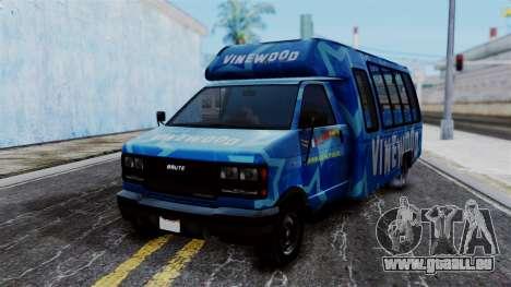 Vinewood VIP Star Tour Bus für GTA San Andreas