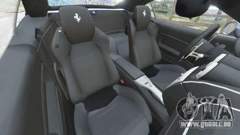 GTA 5 Ferrari California (F149) 2012 [Beta] vorne rechts Seitenansicht