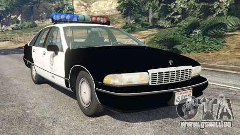 Chevrolet Caprice 1991 LSPD für GTA 5