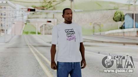 GTA Vice City T-shirt White pour GTA San Andreas