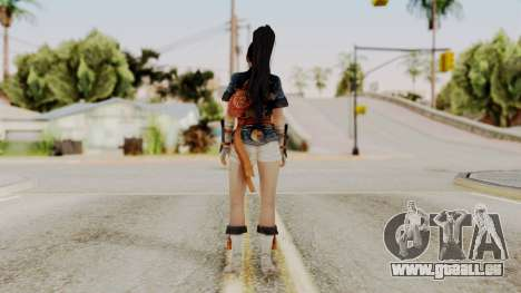 DOA 5 Momiji pour GTA San Andreas troisième écran