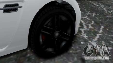 GTA 5 Benefactor Surano v2 pour GTA San Andreas sur la vue arrière gauche