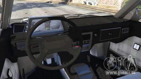 GTA 5 Volkswagen Parati Surf hinten rechts