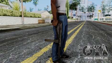 MP40 from Battlefield 1942 für GTA San Andreas dritten Screenshot