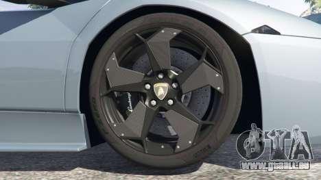 GTA 5 Lamborghini Reventon Roadster [Beta] rechte Seitenansicht