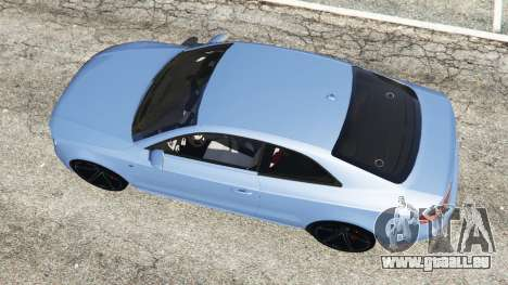 GTA 5 Audi S5 Coupe vue arrière