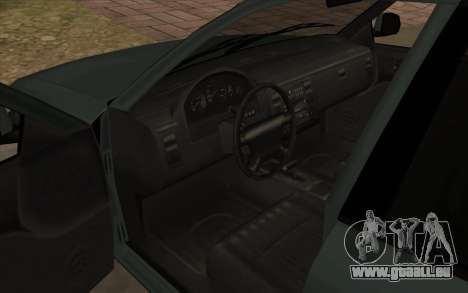 Ford Crown Victoria 1995 SA Stil für GTA San Andreas Innenansicht