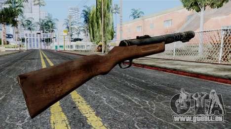 MP18 from Battlefield 1942 pour GTA San Andreas deuxième écran