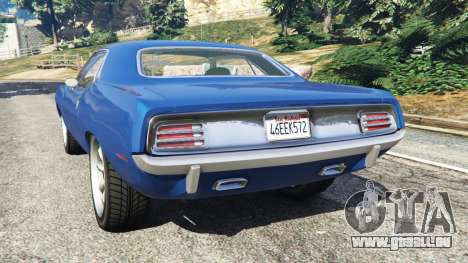 Plymouth Barracuda 1970 für GTA 5