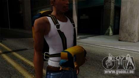 Brasileiro Parachute v2 für GTA San Andreas her Screenshot