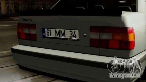 Volvo 850 für GTA San Andreas Rückansicht