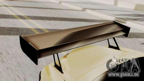 Honda S2000 GT1 pour GTA San Andreas vue arrière