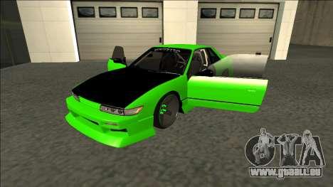 Nissan Silvia S13 Drift Monster Energy für GTA San Andreas Rückansicht