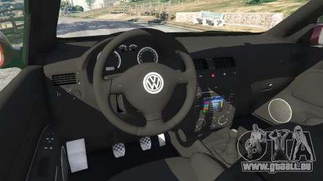 Volkswagen Bora pour GTA 5