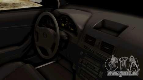 Toyota Hilux CICPC 2007 für GTA San Andreas rechten Ansicht