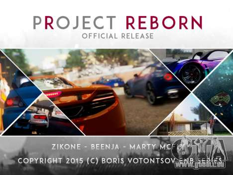 Project Reborn ENB Series für GTA San Andreas