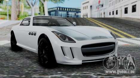 GTA 5 Benefactor Surano v2 für GTA San Andreas