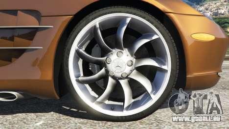 Mercedes-Benz SLR McLaren 2015 für GTA 5