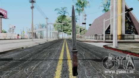 KAR 98 Bayonet from Battlefield 1942 für GTA San Andreas zweiten Screenshot