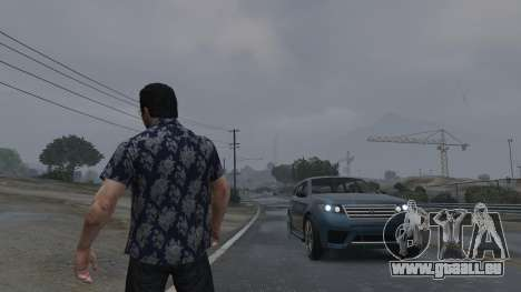 Realistic Thunder and Wind Sound FX für GTA 5