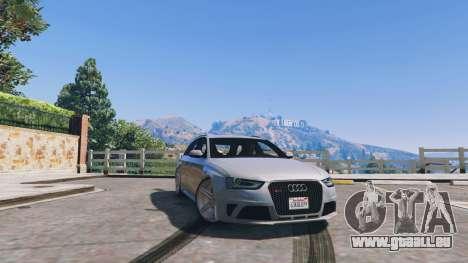 Audi RS4 Avant v1.1 pour GTA 5