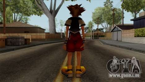 Kingdom Hearts 2 - Sora KH1 Costume für GTA San Andreas dritten Screenshot